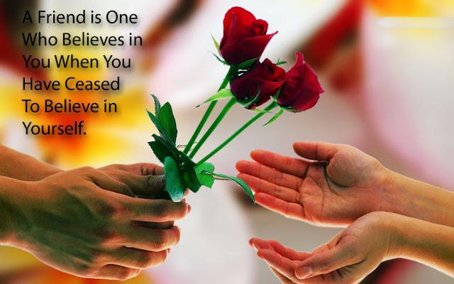 Happy Friendship Day Flowers
