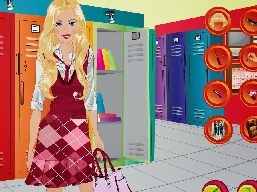 Juegos De Peinar Barbies Y Maquillar - Juegos de Maquillaje Vestir y Peinar