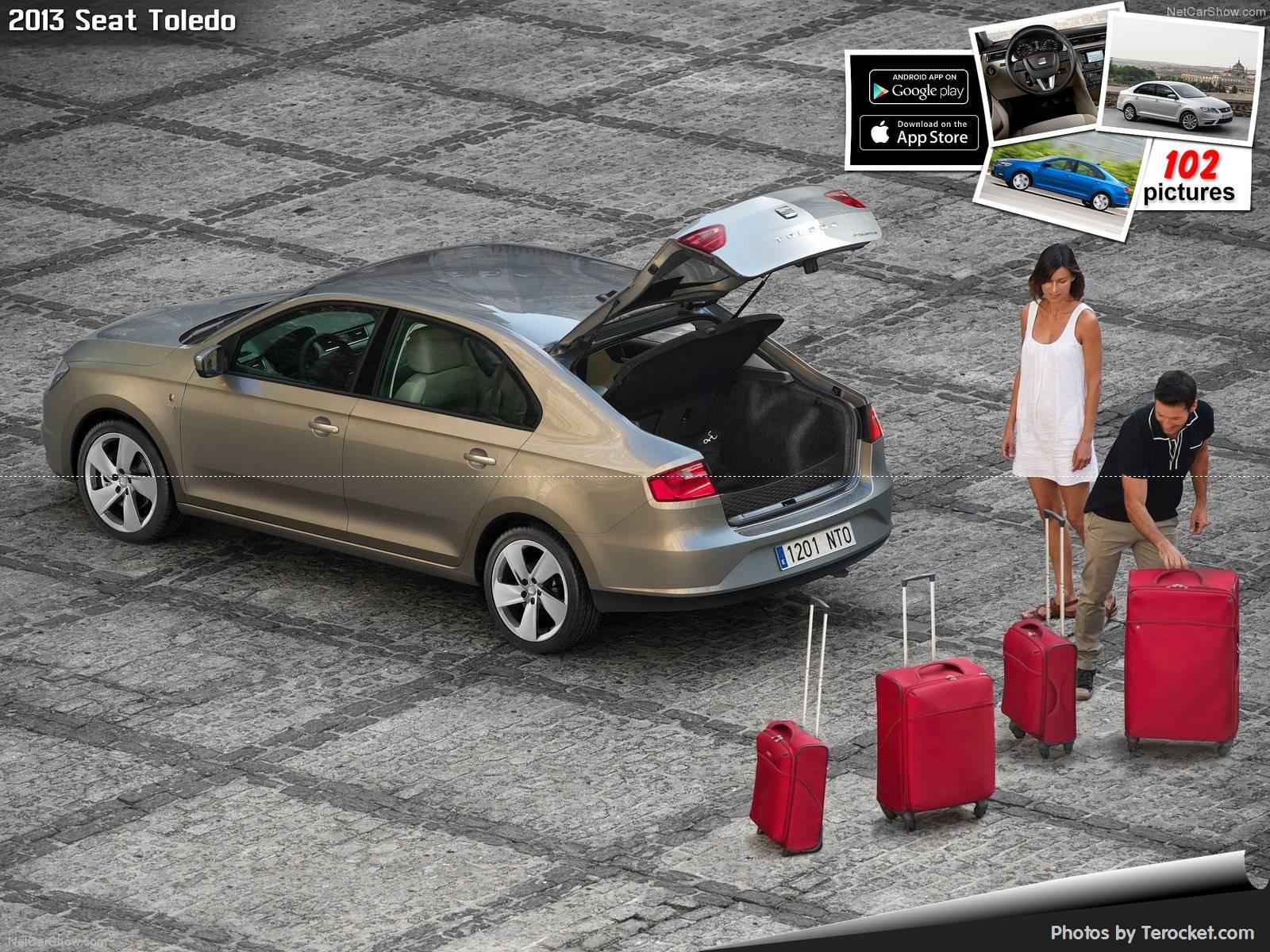 Hình ảnh xe ô tô Seat Toledo 2013 & nội ngoại thất