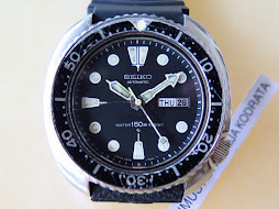 SEIKO DIVER 6309 7040 PART A - ORIGINAL DIAL BEZEL AND HANDS - AUTOMATIC