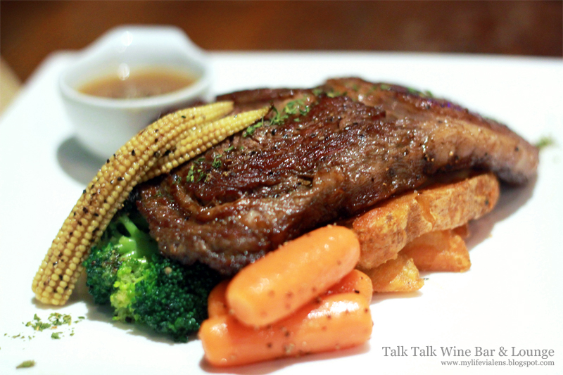 Talk Talk Wine Bar & Lounge at Pekaka Square