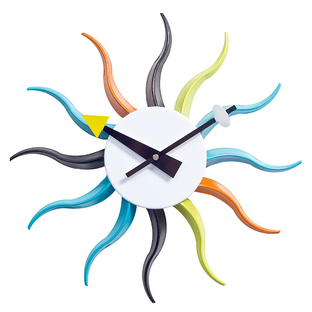 Sunbeam Clock Design