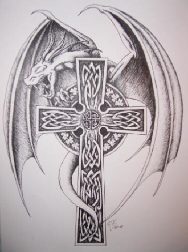 cross tattoos for men on shoulder blade. japanese samurai tattoo, cross tattoos designs angel tattoos designs for men