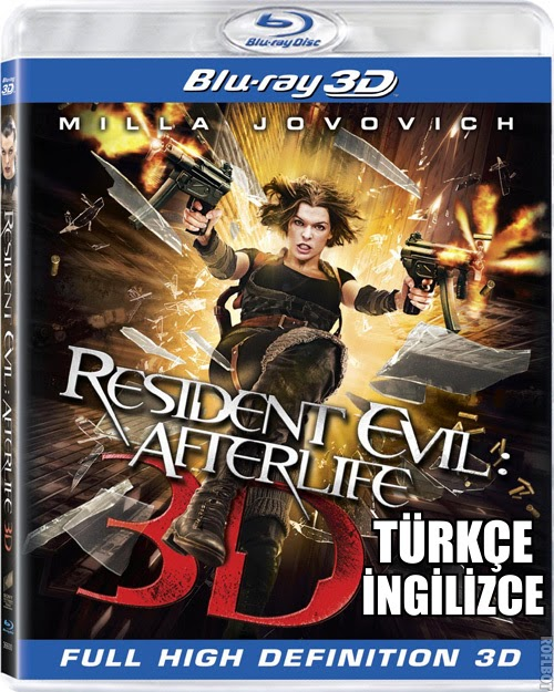 Resident Evil Afterlife 2010 3D Full HD Türkçe Dublaj İndir