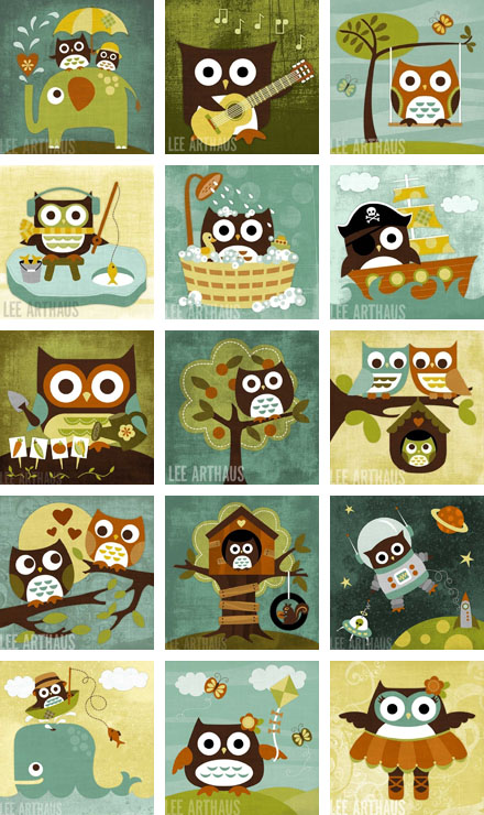 Cute Pics Of Owls. New cute and retro owls