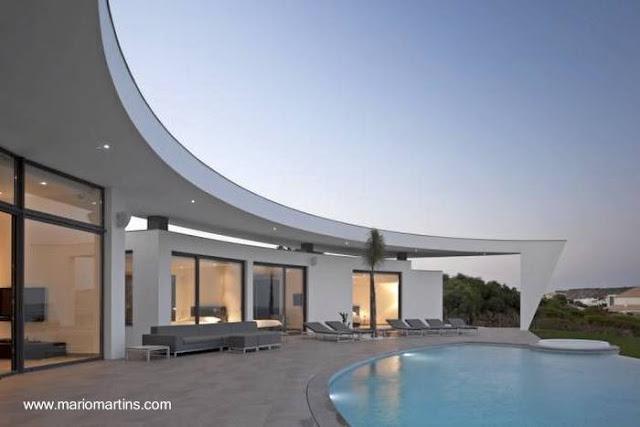 Casa de estilo Contemporáneo en Portugal