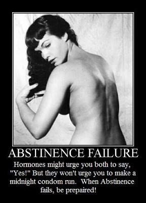abstinence ... lack of male attention(daddy issues) are commonly what makes people gay, ...