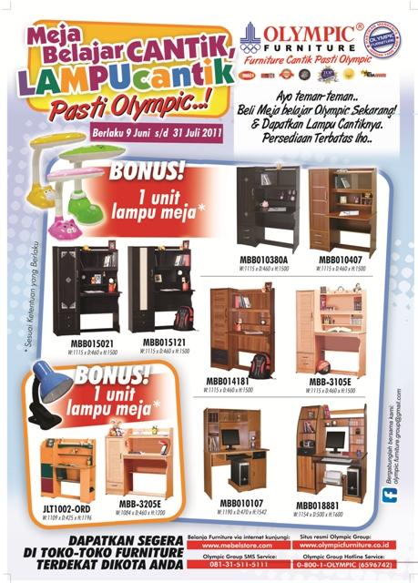 olympic furniture. PROGAM MEJA BELAJAR BULAN JULI 2011 (OLYMPIC FURNITURE CABANG BOGOR) Olympic Furniture