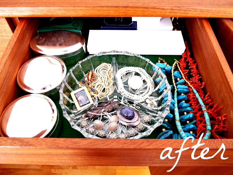 New uses for old things serving dishes in the jewellery box dans le lakehouse - New uses for old things ...