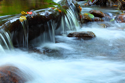 Blurring Waterfalls with Long Exposure