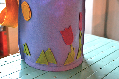 Applique Easter Bucket Basket Tutorial DIY