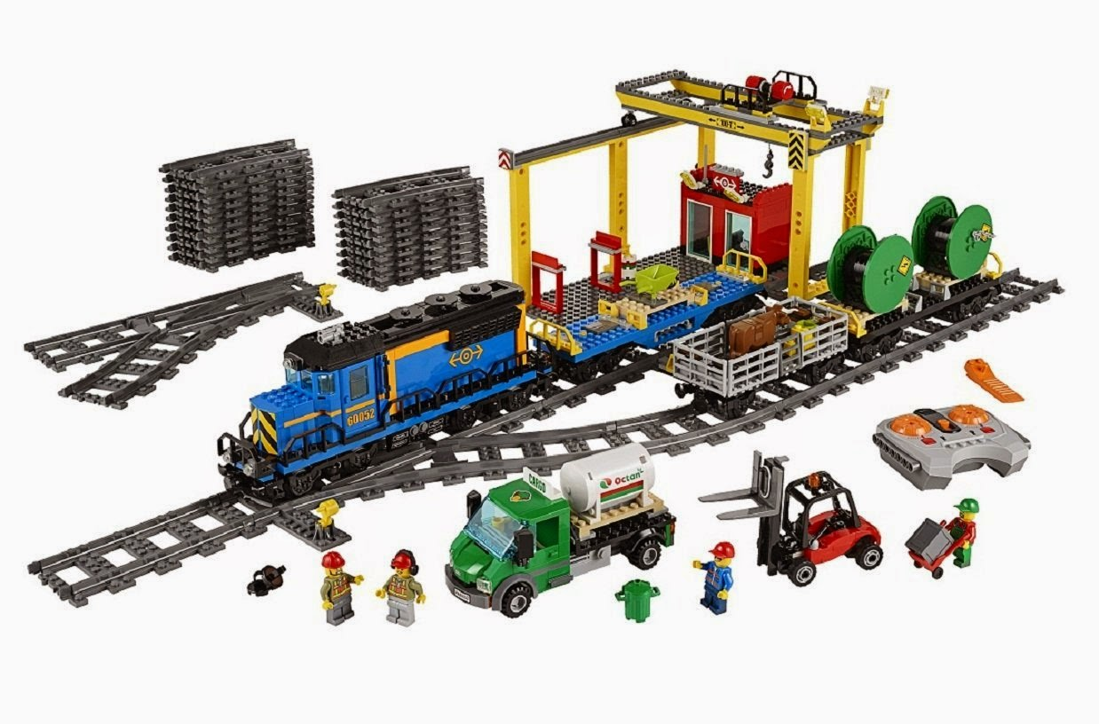 Lego City Tren de Mercancías kit 60052 - vista general