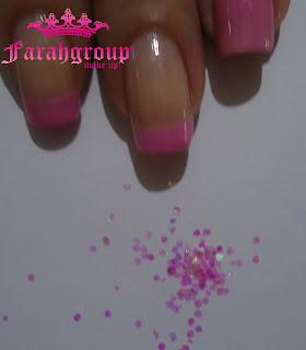 tutoriales, nail art, lentejuelas