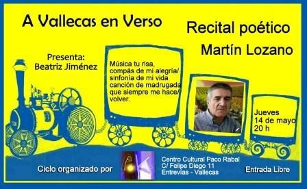 Mayo en verso con Martín