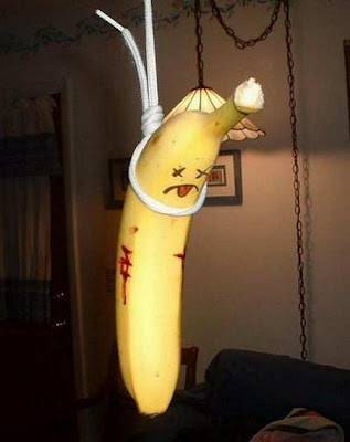 Funny Banana Art
