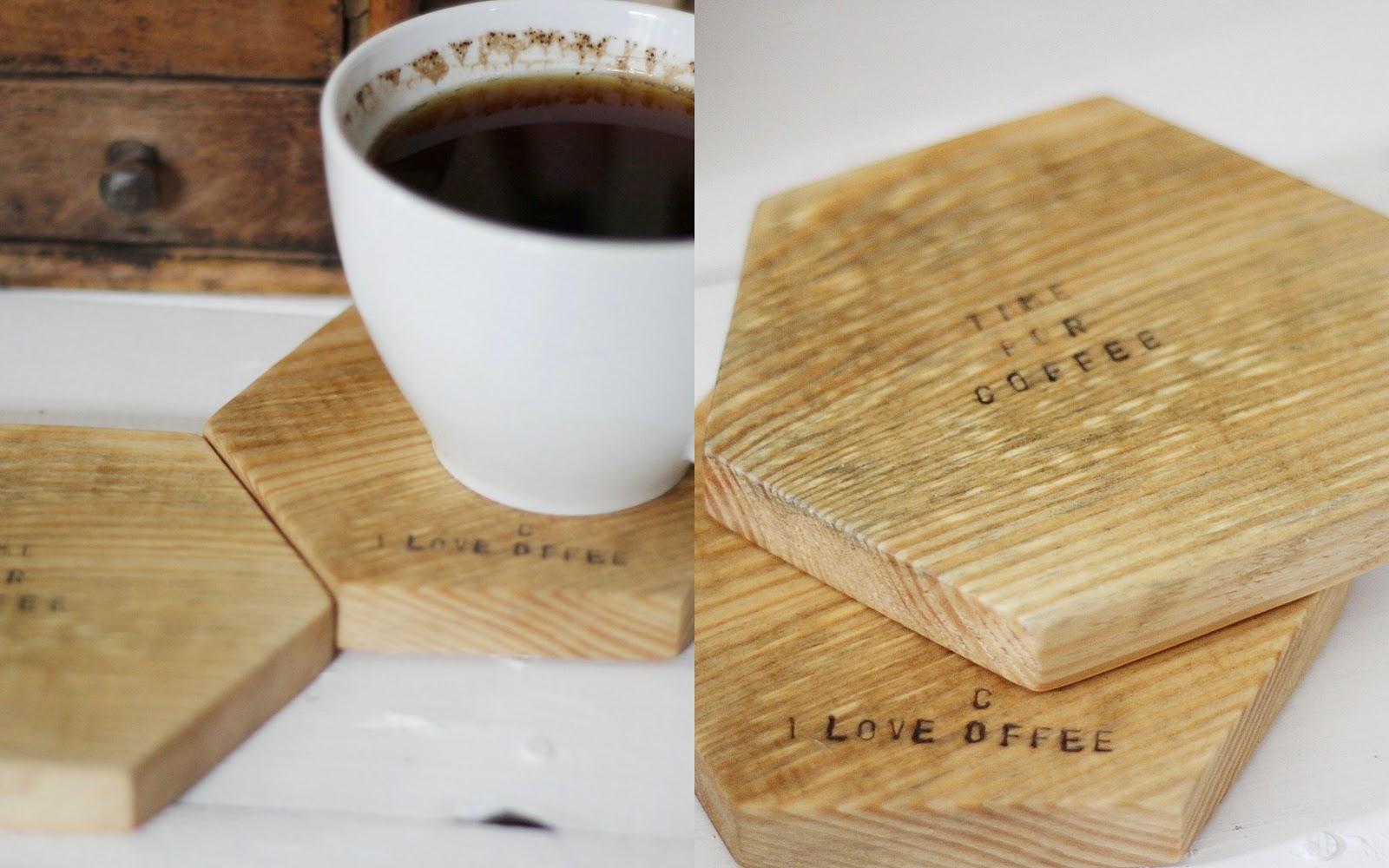 Cofee,Kawa,Love,Typografia,Drewniane litery
