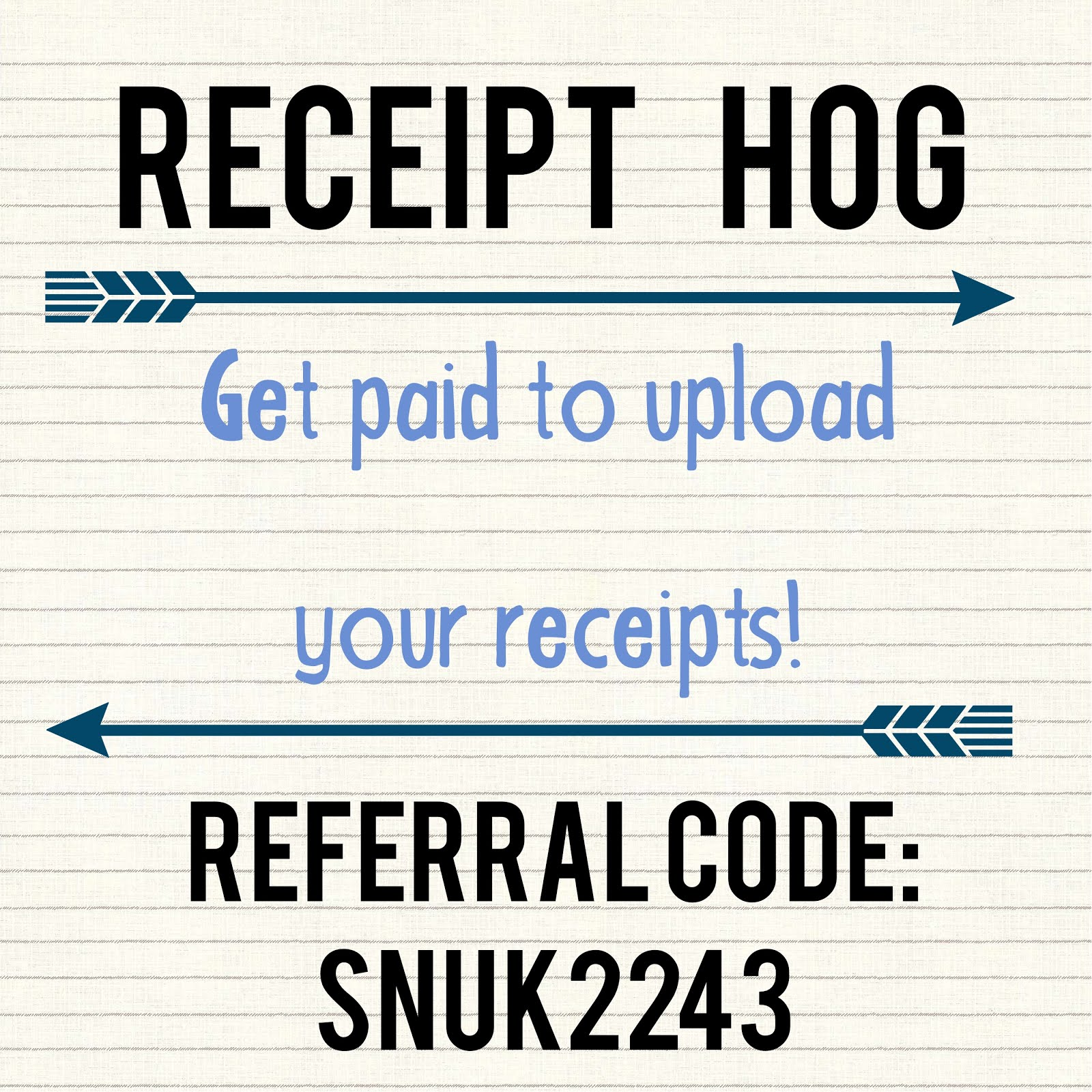 Get paid to upload your receipts!