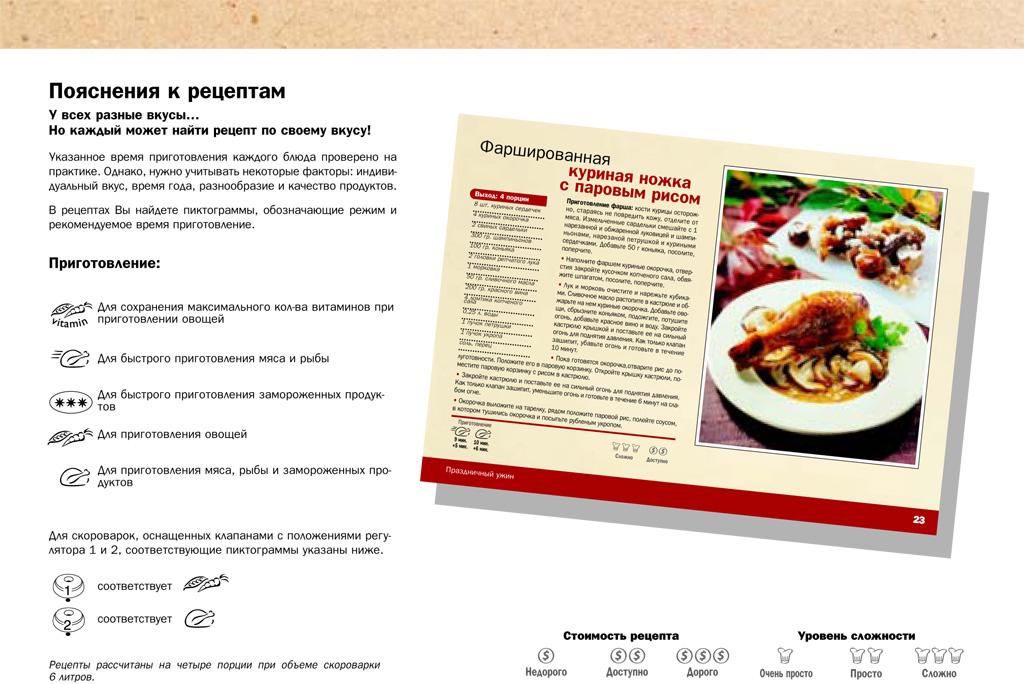 Рецепты и инструкциями