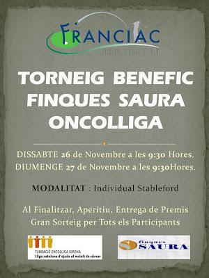 Torneig Benèfic Oncolliga P&P Franciac