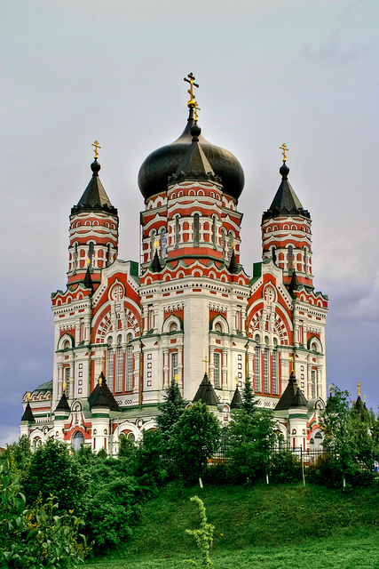 viaje a Ucrania Catedral de San Pantaleón kiev