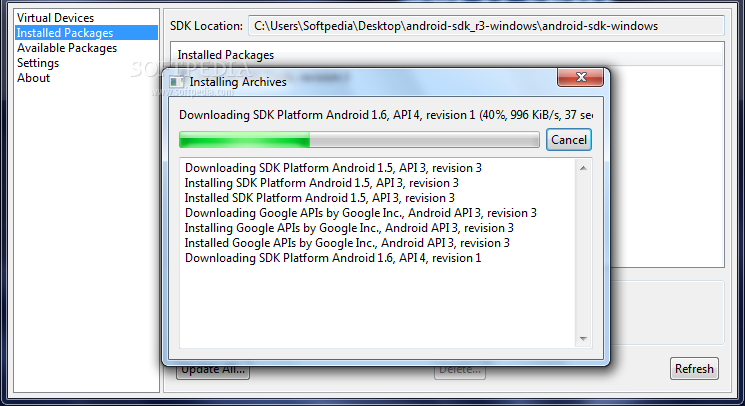 Crear Aplicaciones para Android con Android SDK