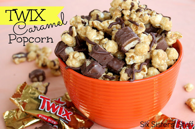 Twix Caramel Popcorn