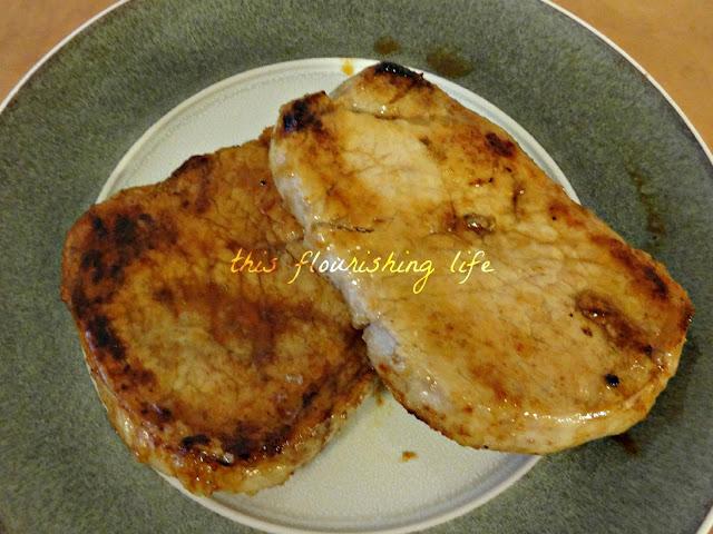 Soy-Free Honey Ginger Asian Pork Chops
