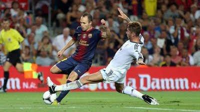 FC Barcelona Real Madrid Supercopa Andrés Iniesta