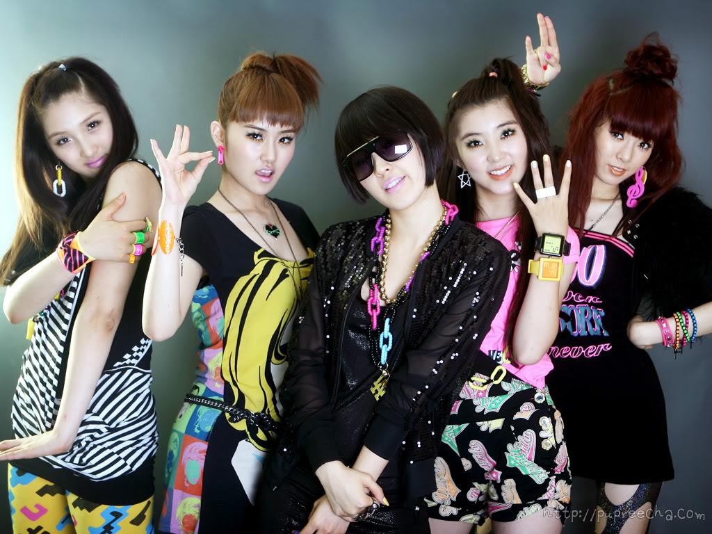 4 Minute Korean Girl Band