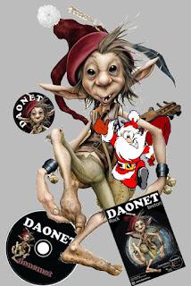 Le décapsuleur et l'afiche offerts pour Noël