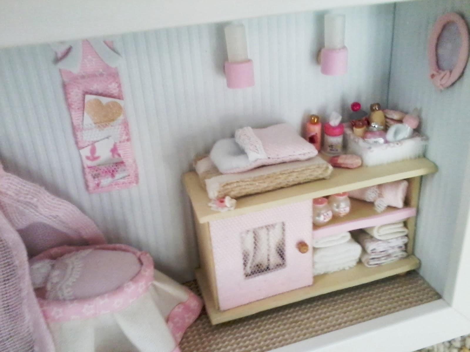 Yedape - Cuadros con miniaturas: Habitación de Bebé, miniatura ...