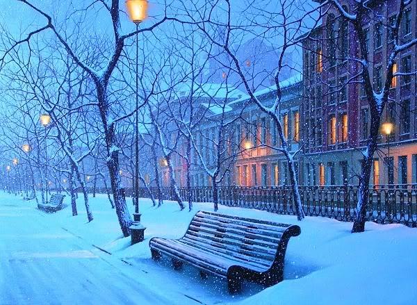 Зима в городе красивые фото 7