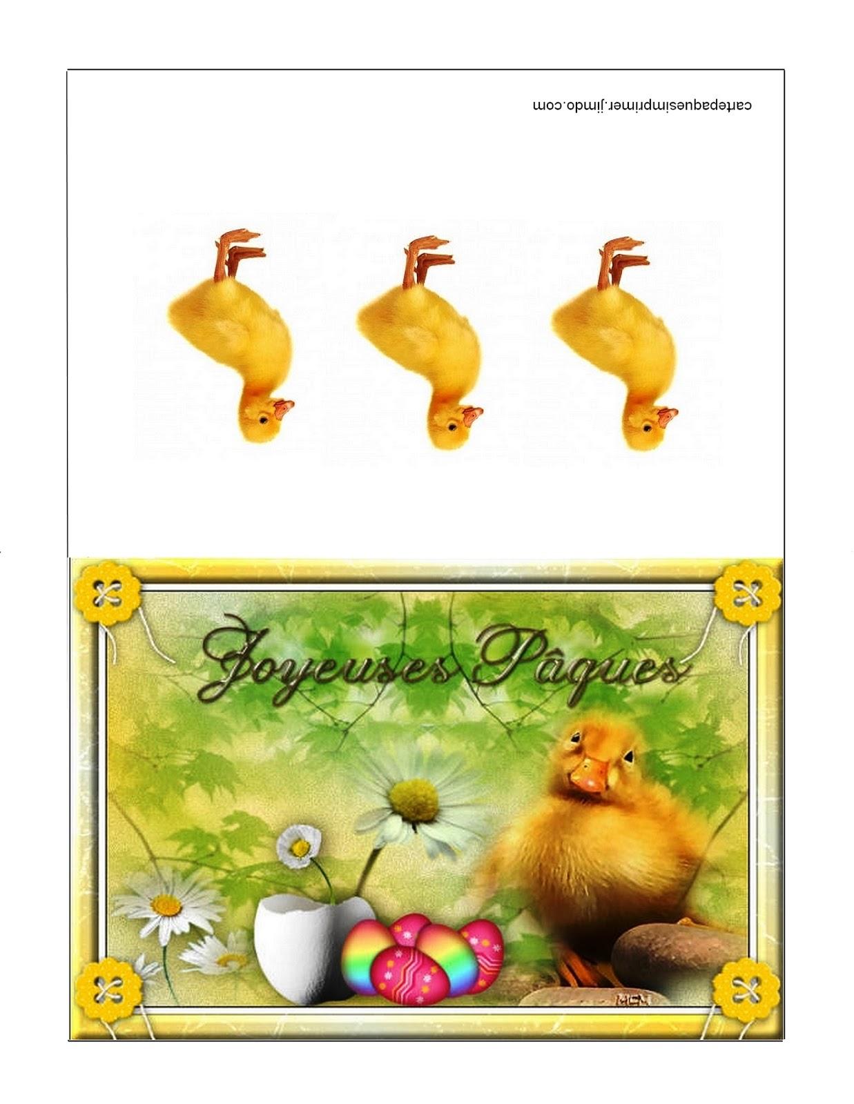 Carte de p ques imprimer gratuites carte p ques imprimer gratuites - Image de paques a imprimer ...