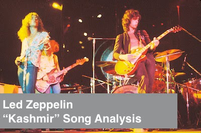 "Led Zeppelin ""Kashmir"" song analysis image"