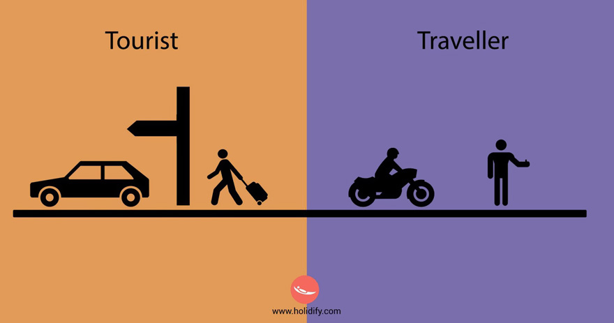 #10 Tourist Vs Traveller - 10+ Differences Between Tourists And Travellers