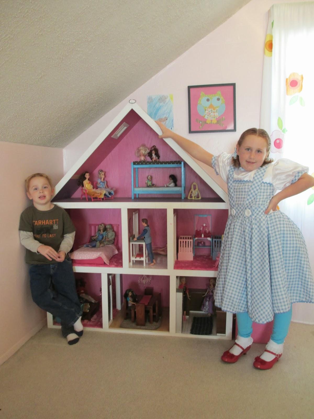 Kruse S Workshop Building For Barbie On A Budget