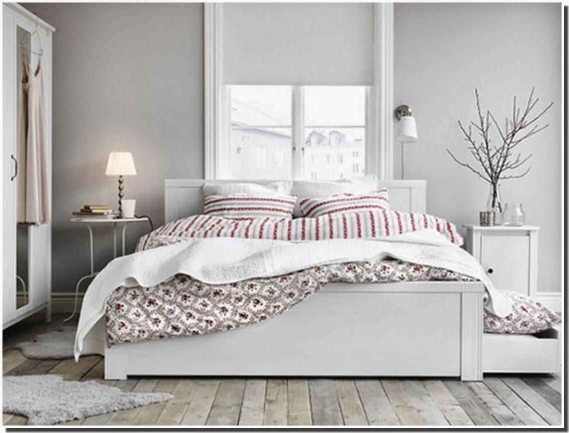 Ikea chambre ado for Chambre a coucher blanche