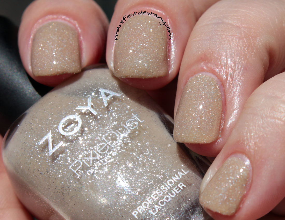 Polished Prescription: Zoya PixieDust Miranda - Swatch and