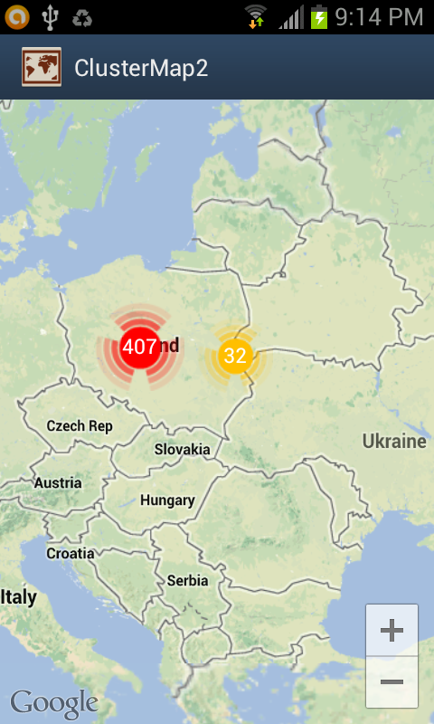 Deep dive in android clustering on google map v2 part 1 screenshots gumiabroncs Gallery