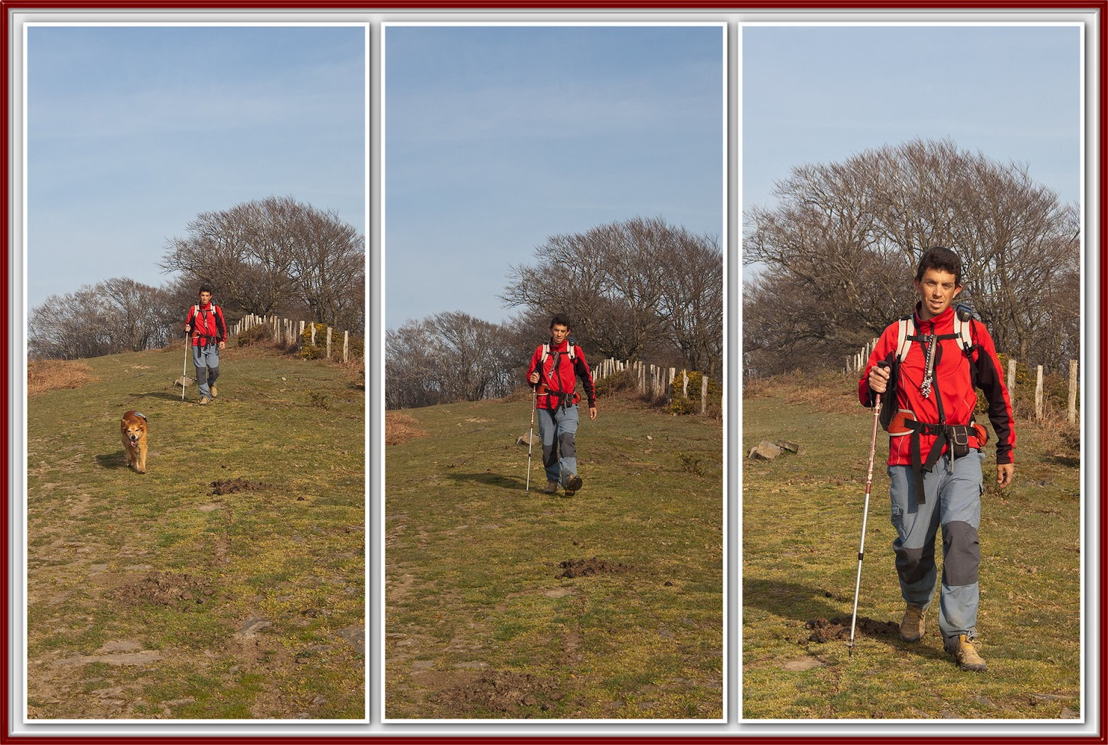 La senda agradecida: un paseo por arlaban. galbarrain troke usokoaitza