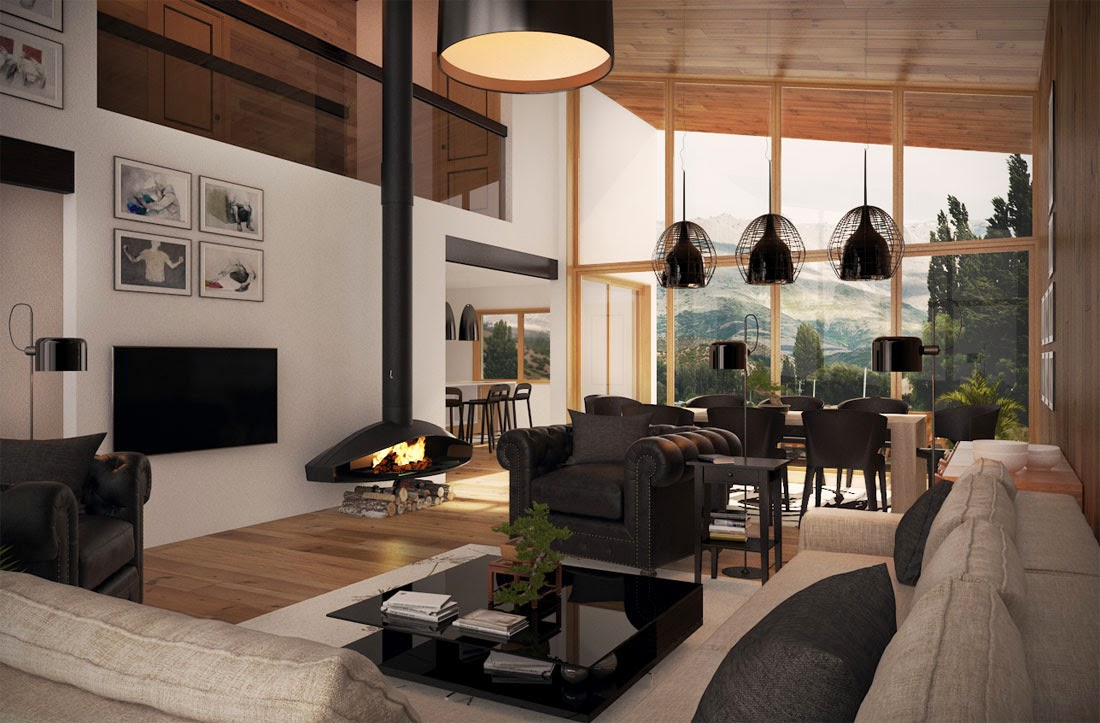 Proyectos de casas modernas for Proyectos casas modernas