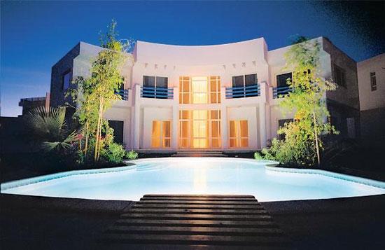 صور لبيت حسني مبارك الذي يسكنه الآن في شرم الشيخ - قصر خرافي علي شواطي البحر 1