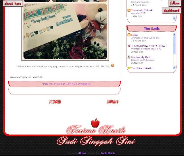 Blog Apple Merah Berwajah Baru