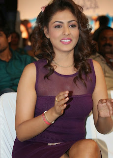 Actress Model Madhu Shalini  Picture Gallery in Short Dress at Ladies and Gentleman Audio Launch  37.jpg