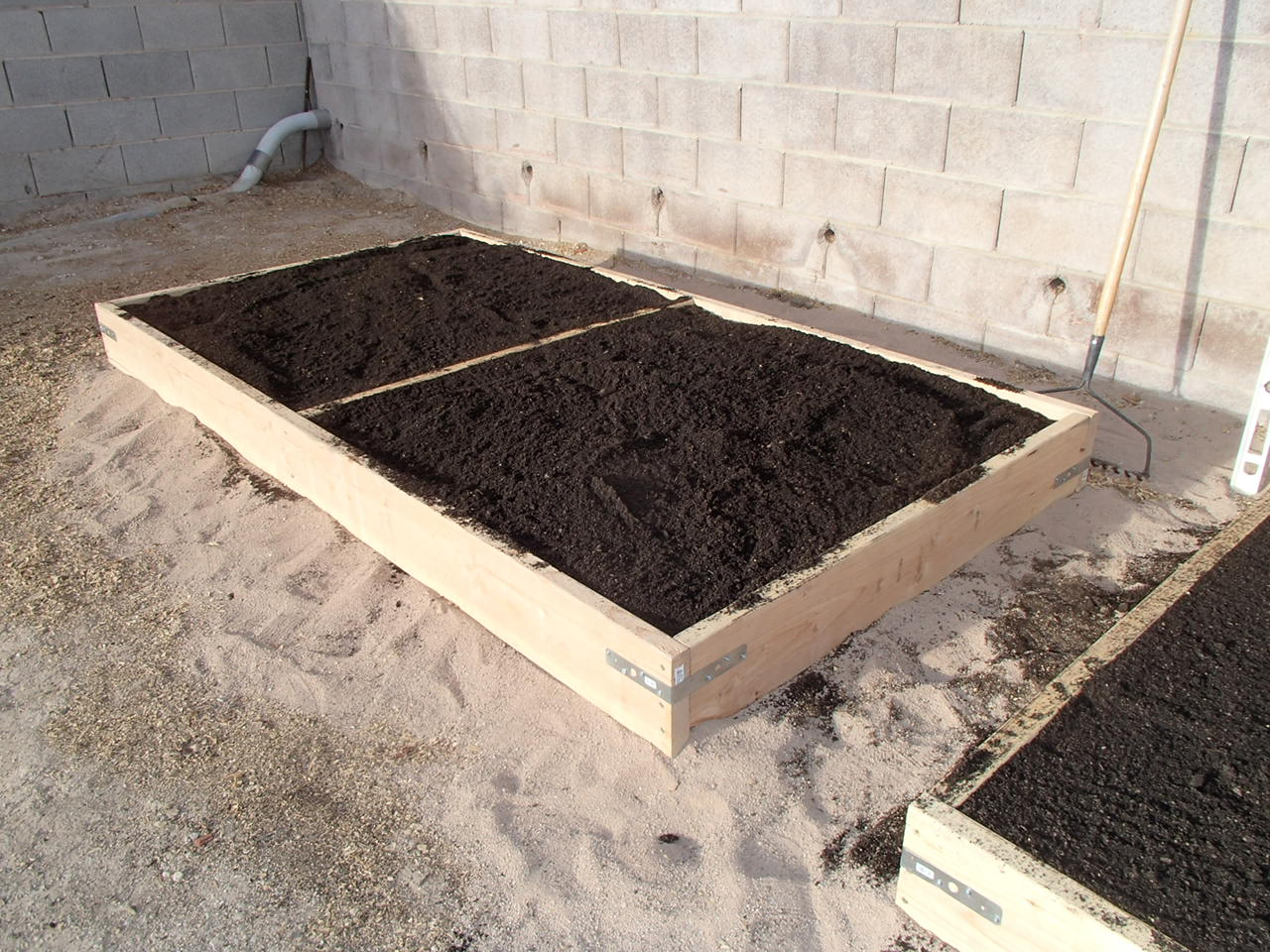viragrow delivers add compost to a raised bed not more soil mix