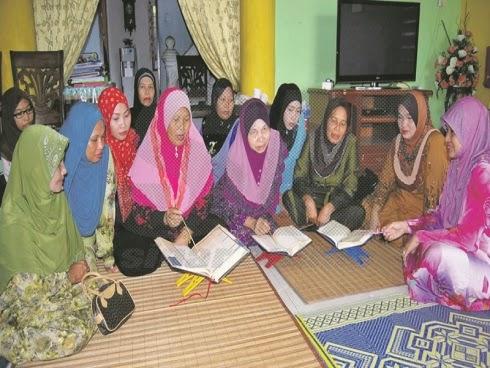 Mengajar percuma impiannya mahu melihat rakan rakan sekampung dapat membaca al Quran dengan baik