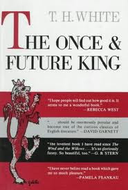 book jacket of 'The Once and Future King'