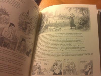 páginas interiores de Gemma Bovery - Posy Simmonds