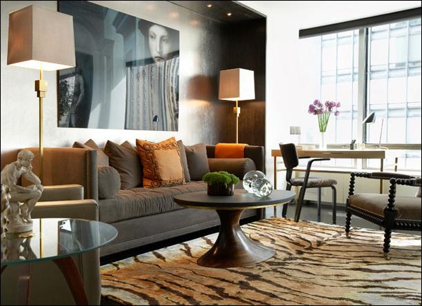 Masculine living rooms room design inspirations - Masculine interior design living room ...