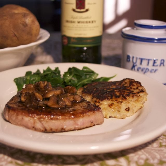Irish Whiskey Steak-simplelivingeating.com